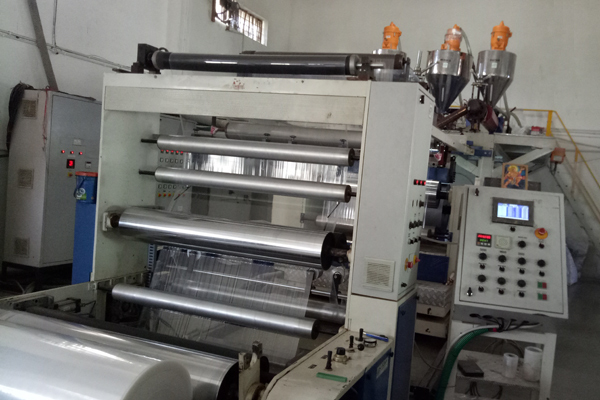 Clust Three Layer Cast Film Line Extrusion For Stretch Film